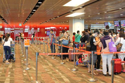 Vì sao khách bị từ chối ở Singapore?