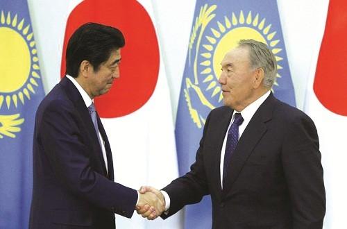 Nhật Bản để mắt tới thị trường Trung Á
