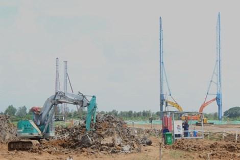 Nhiệt điện Sông Hậu 1: Dự kiến 1-2016 thi công móng cọc nhà máy chính