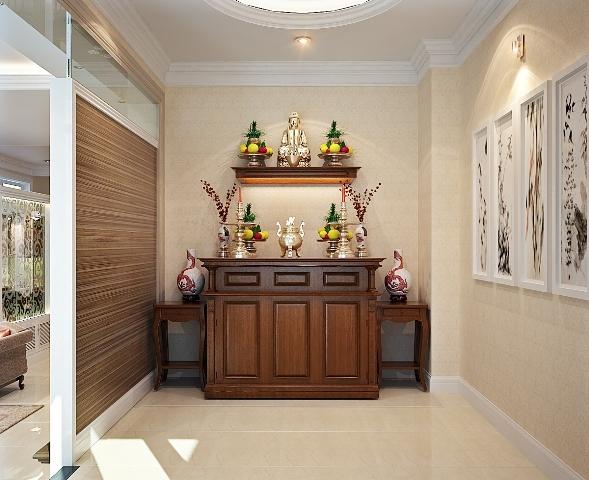 Những lưu ý vàng khi đặt bàn thờ trong nhà