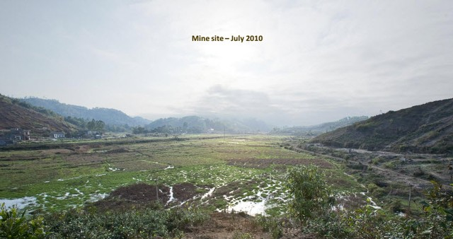 thang 7/2010, du an nui phao van la chi la khu dat trong