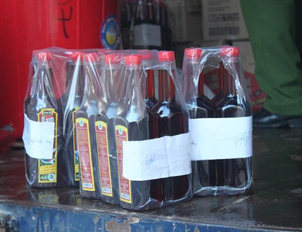 Nước mắm Chin su - Nam Ngư giả bán khắp Nghệ An