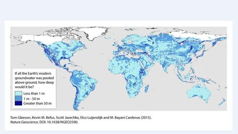 'Đại dương' 23 triệu tỉ mét khối nước ẩn mình dưới vỏ Trái đất