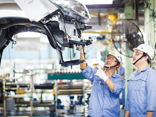 Tia sáng TPP cho công nghiệp ô tô