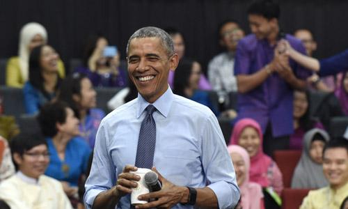 Obama: 'Tôi không nhuộm tóc, đừng chê tôi già'