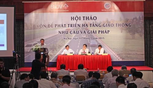 Phát triển hạ tầng giao thông: Cần vốn, cần cả cơ chế hiệu quả