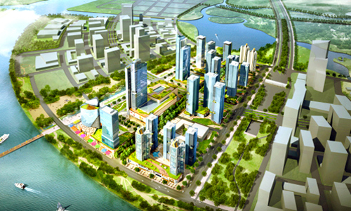 phoi canh du an eco smart city.