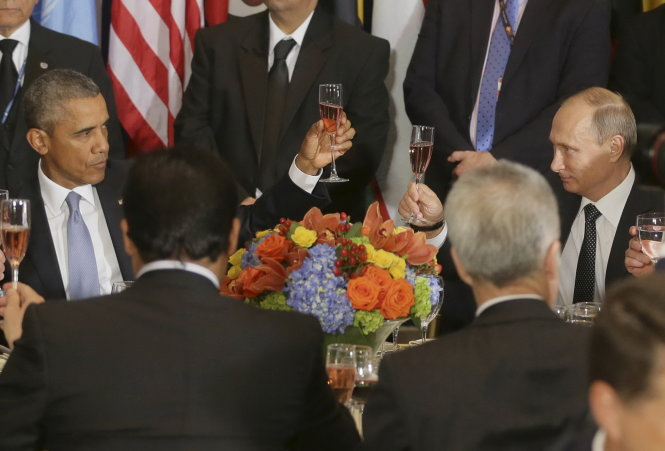 canh cung ly the hien ro su mau thuan giua ong obama va ong putin - anh: reuters