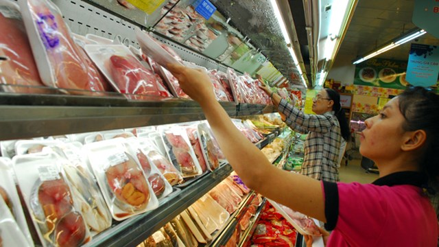 Hơn 90% sản phẩm trong siêu thị Aeon, Big C là hàng Việt Nam