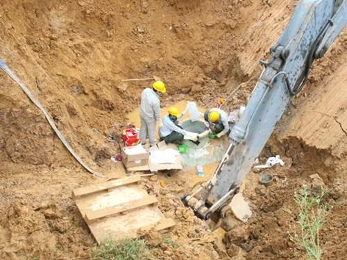 Mong manh ống nước sông Đà