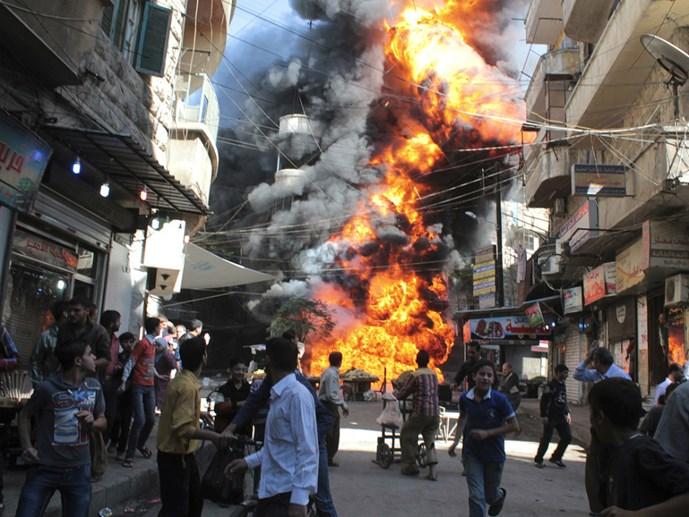 Cuộc chiến Syria: Từ nội chiến trở thành cuộc chiến quốc tế hoá
