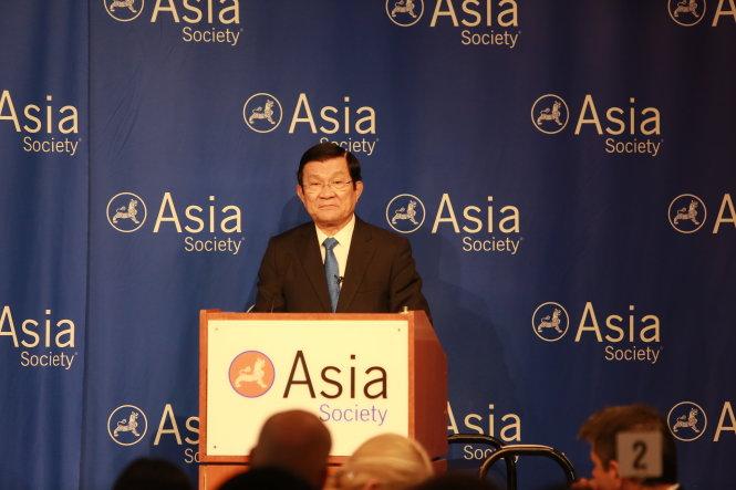 Chủ tịch nước Trương Tấn Sang: Những toan tính đơn phương đe dọa hòa bình