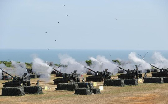 """Đài Loan tập trận đề phòng Trung Quốc """"tấn công"""""""