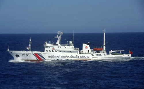 Nghị sĩ Philippines tố tàu Trung Quốc neo đậu gần bãi Cỏ Mây