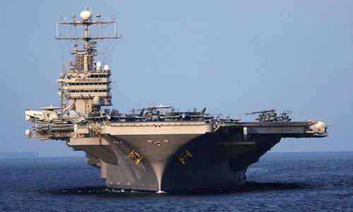 Tàu sân bay Mỹ nguy cơ bị thất sủng