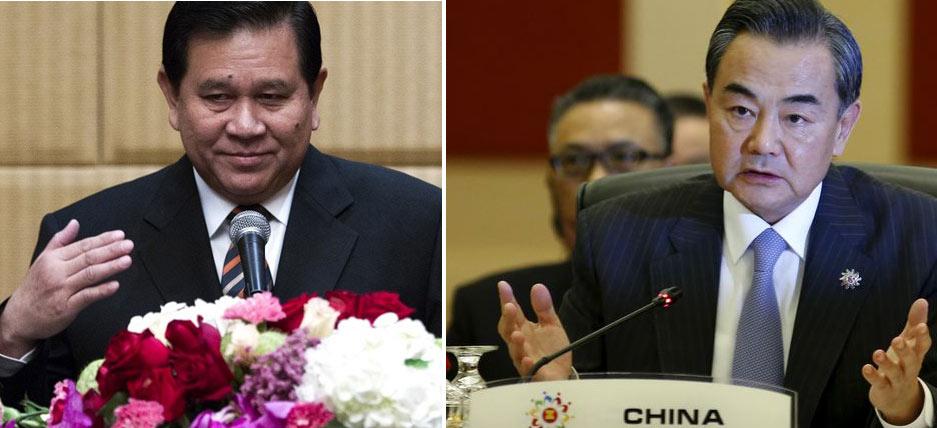 """Tướng Thái Lan """"xiêu lòng"""" trước Ngoại trưởng Trung Quốc"""