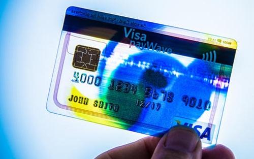 Thẻ ngân hàng Mỹ trang bị thêm lá chắn bảo mật