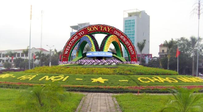 Thị xã Sơn Tây định hướng trở thành đô thị loại II - Đô thị vệ tinh của Hà Nội