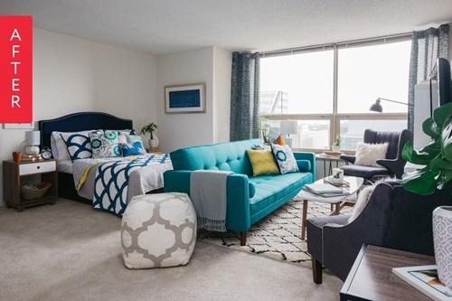 Thiết kế căn hộ chung cư 46m2 cho cặp vợ chồng