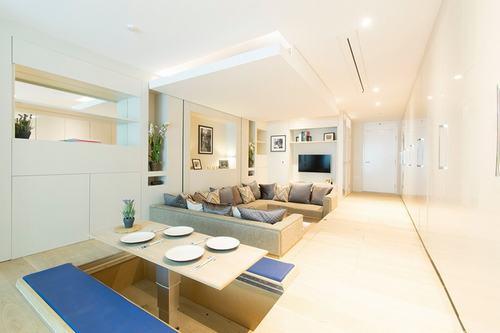 Căn hộ 40 m2 với thiết kế đồ biến mất kiểu Nhật