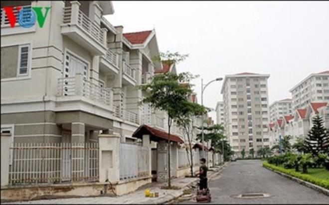 doanh nghiep bat dong san tang cao, canh tranh cang khoc liet