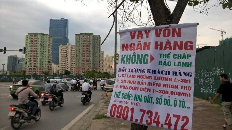 mot hinh thuc vay von khong the chap voi lai suat tinh theo ngay kha pho bien