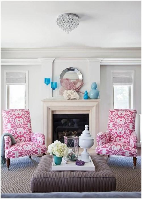 10 lưu ý khi sử dụng họa tiết hoa trong trang trí nội thất