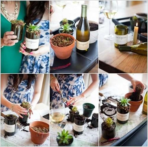 10 ý tưởng tinh tế để đưa cây xanh vào trong ngôi nhà của bạn