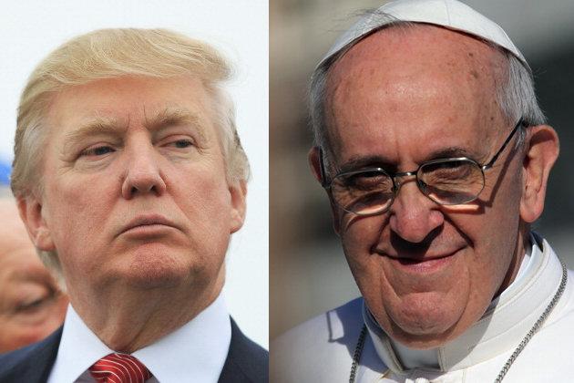 Donald Trump tố bà Hillary phạm tội, chế nhạo Đức Giáo hoàng
