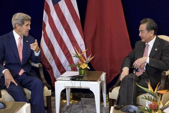 """Mỹ lo ngại Trung Quốc """"quân sự hóa"""" biển Đông"""