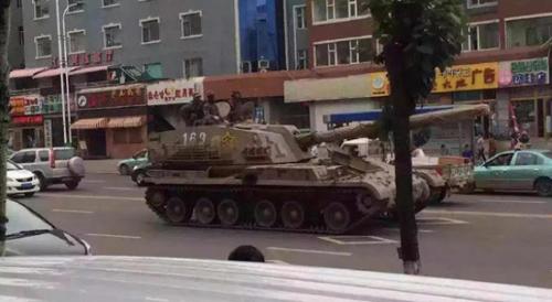 Trung Quốc có thể điều xe tăng khi căng thẳng liên Triều gia tăng