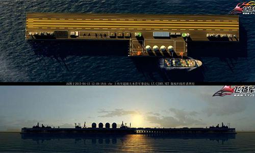 Trung Quốc được gì khi xây đảo nổi khổng lồ