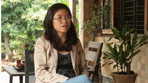 """truong thanh thuy duoc bbc goi la """"nu hoang khoi nghiep"""" viet nam. anh: bbc"""