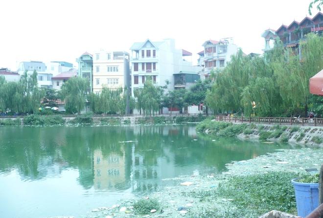 Những hồ ô nhiễm nặng ở Hà Nội