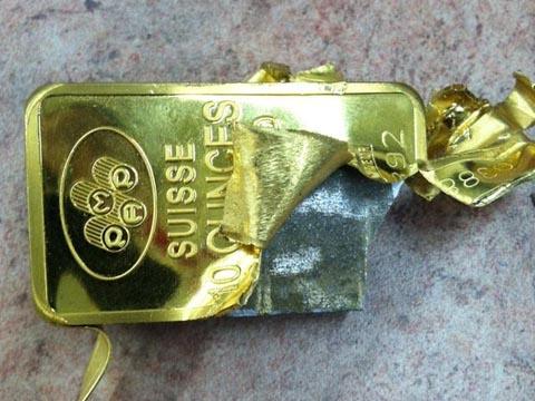 Đường đi của vàng giả vào Việt Nam