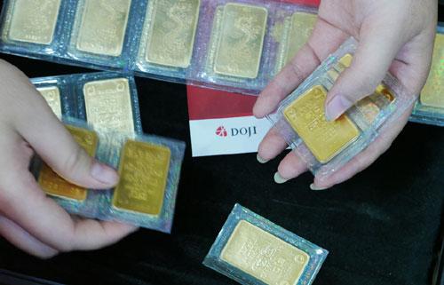 Thị trường vàng thiếu 'sóng'
