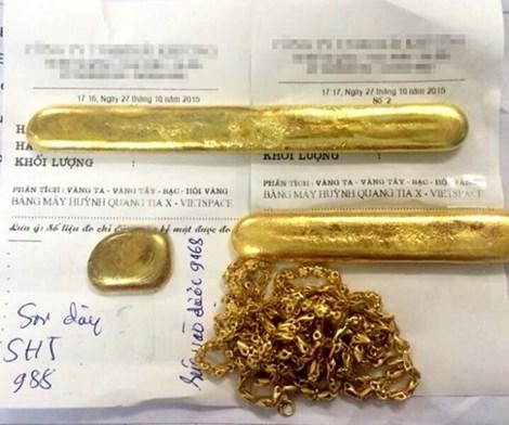 Vàng rởm Trung Quốc qua mặt máy kiểm tra ra sao?