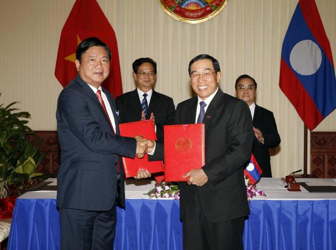 Thủ tướng Nguyễn Tấn Dũng thăm Lào: Ưu tiên mối quan hệ đặc biệt Việt - Lào