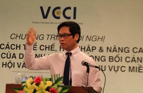 ong vu tien loc, chu tich phong thuong mai va cong nghiep viet nam (vcci).