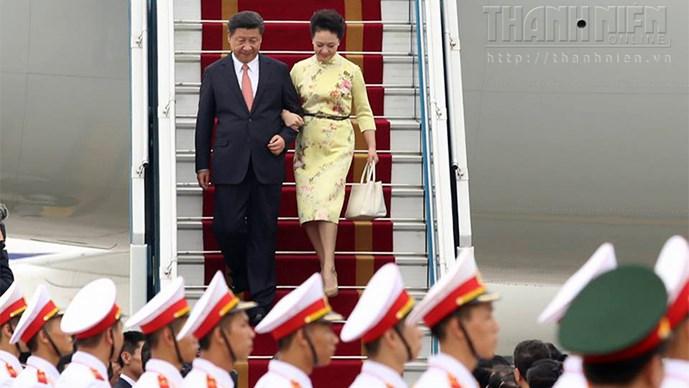 Bài phát biểu đầu tiên của Tổng bí thư, Chủ tịch nước Trung Quốc tại Hà Nội