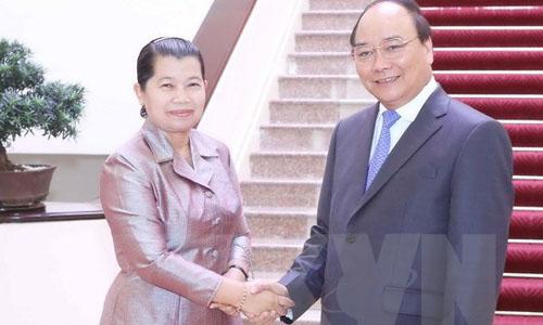 Việt Nam - Campuchia nhất trí sớm hoàn tất phân giới