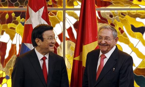 Việt Nam - Cuba đẩy nhanh ký hiệp định thương mại mới