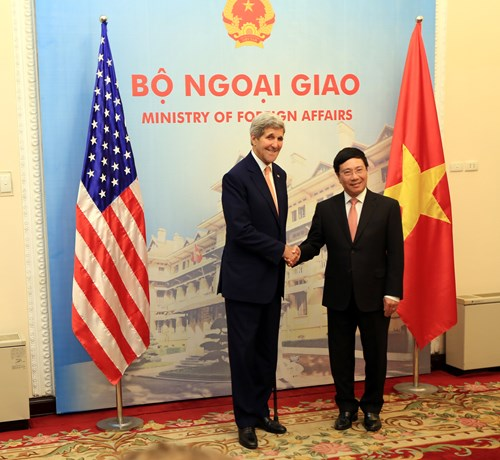 Thảo luận hợp tác an ninh biển Việt Nam - Hoa Kỳ
