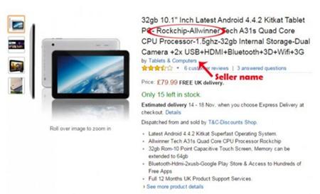 Phát hiện hơn 17.000 tablet giá rẻ Trung Quốc chứa mã độc