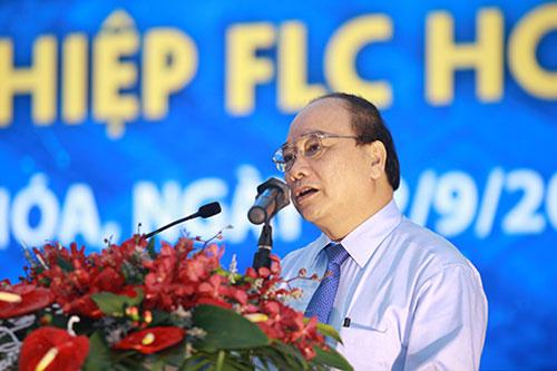 pho thu tuong nguyen xuan phuc phat bieu tai le khoi cong
