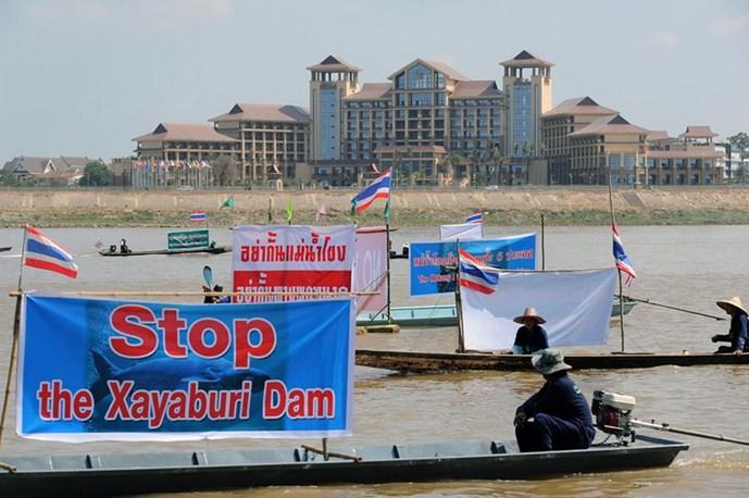 Báo Thái Lan lên án gay gắt dự án xây đập của Lào trên dòng Mekong