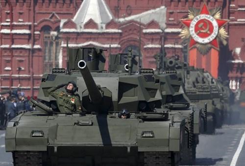 Siêu xe tăng Armata của Nga có công nghệ tàng hình