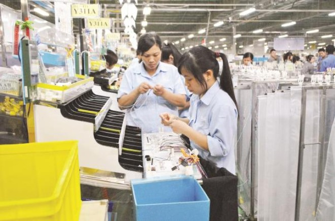 """""""Phát thèm"""" với xuất khẩu của doanh nghiệp FDI"""