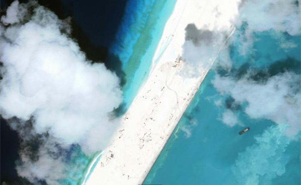 Năm 2017, Trung Quốc hoàn tất quân sự hoá các đảo nhân tạo ở Biển Đông
