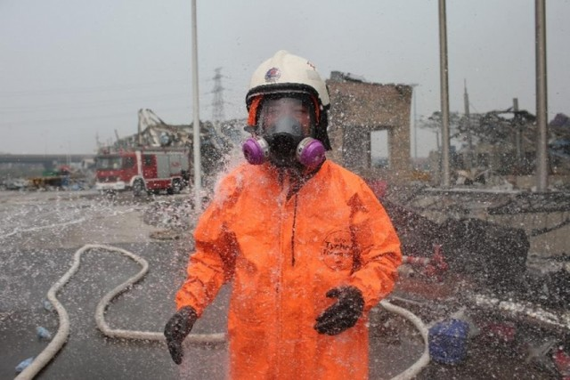 Có thể xử lý thảm họa tràn hóa chất trong vụ nổ Thiên Tân như thế nào?
